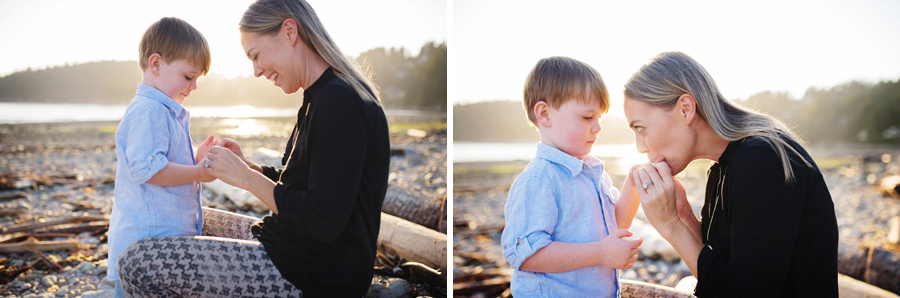 west vancouver family beach photographer